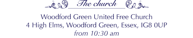 Woodford Green United Free Church, 4 High Elms, Woodford Green, Essex, IG8 0UP